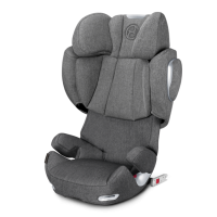 Автокресло Cybex Solution Q3-fix Plus Manhattan Grey (серый)