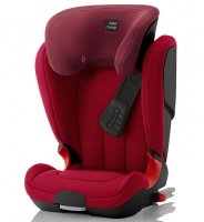 Автокресло Britax Roemer KidFix XP Black Series Flame Red Trendline (красный)
