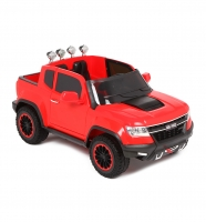 Электромобиль Weikesi Chevrolet Colorado ABL1602 (красный)