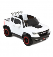 Электромобиль Weikesi Chevrolet Colorado ABL1602 (белый)